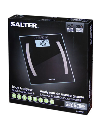 Springfield Salter Body Analyzer Scale-BLACK-One Size