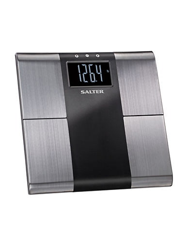 Springfield Salter Stainless Steel Body Analyzer Scale-STAINLESS STEEL-One Size