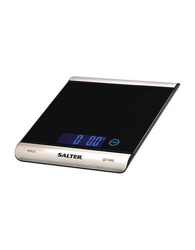 Springfield Salter 15kg Glass Food Scale-BLACK-One Size