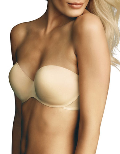 Maidenform Full Coverage Strapless Bra-BEIGE-38D