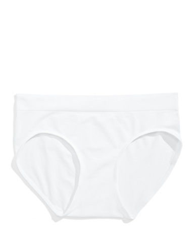 Bali Smoothing Hipster Briefs-WHITE-Large