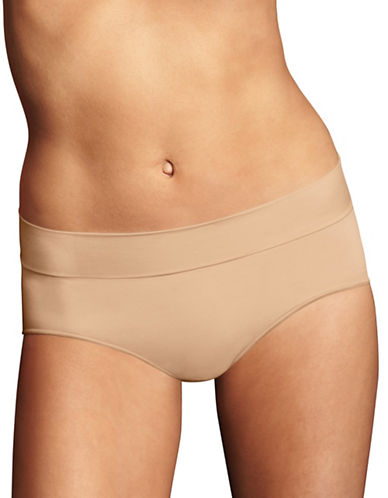 Maidenform Smooth Seamless Hipster Panties-LATTE-7