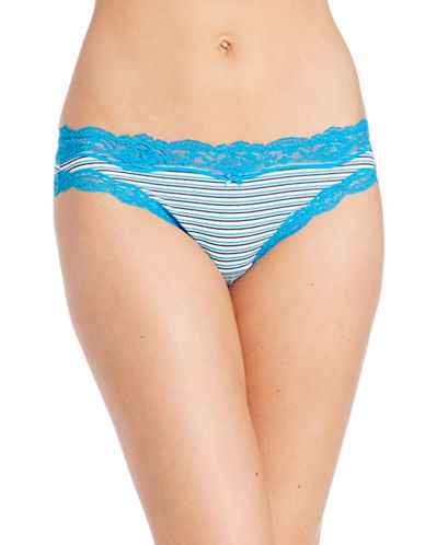 Dkny Scalloped Lace Bikini Brief-POOLSIDE-Large