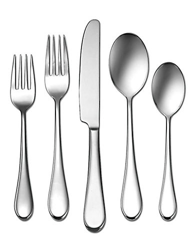 Oneida Icarus 45Pc Set-SILVER-One Size
