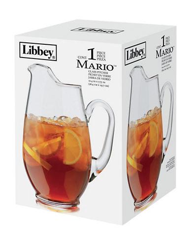Libbey One Piece Glass Pitcher-CLEAR-One Size