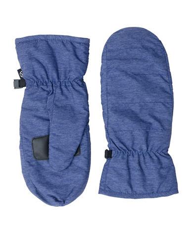 Isotoner Sleekheat Touchscreen Gloves-NAVY-Large