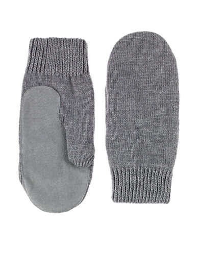 Isotoner Knit Mittens-OXFORD-One Size