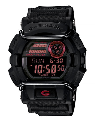 Casio Mens Sport Protector Standard Digital GD4001-BLACK-One Size