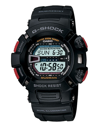 Casio GS Mudman Resin Watch-BLACK-One Size