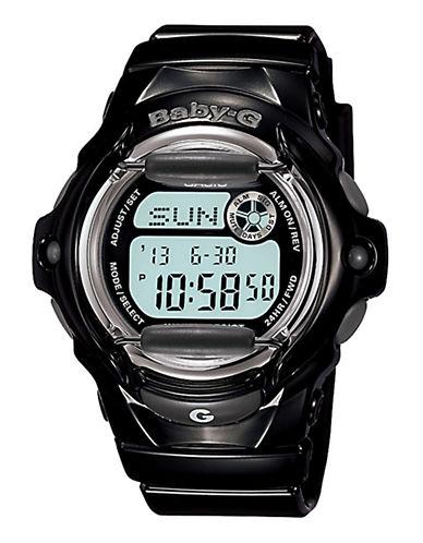 Casio Women's Baby-G Black Watch-BLACK-One Size