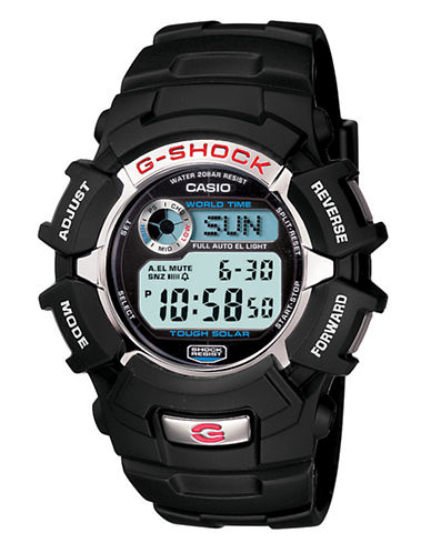 Casio GS Tough Solar Resin Watch-BLACK-One Size