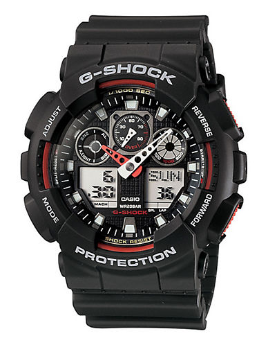 Casio Mens  G-Shock Watch-BLACK-One Size