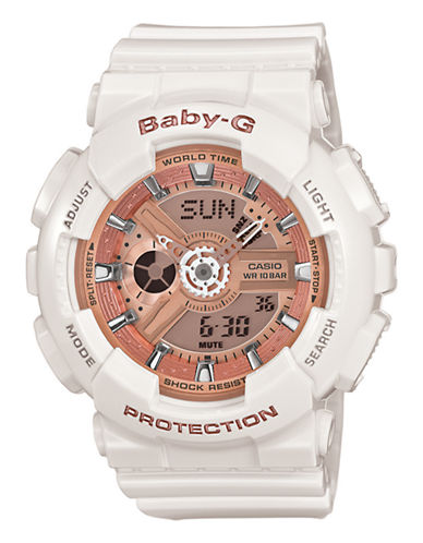 Casio Baby G Watch-WHITE-One Size