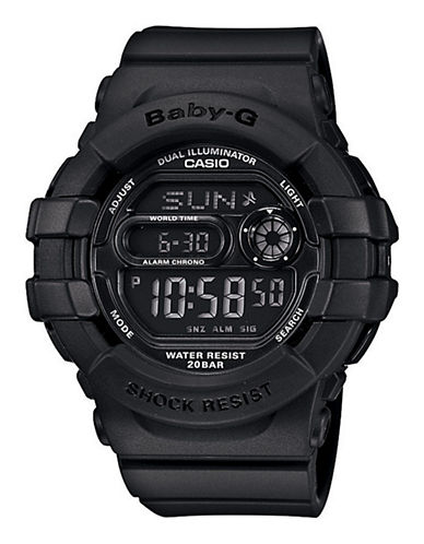 Casio Women's Baby-G Watch-BLACK-One Size