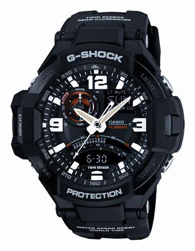 Casio Mens G Shock Watch-BLACK-One Size