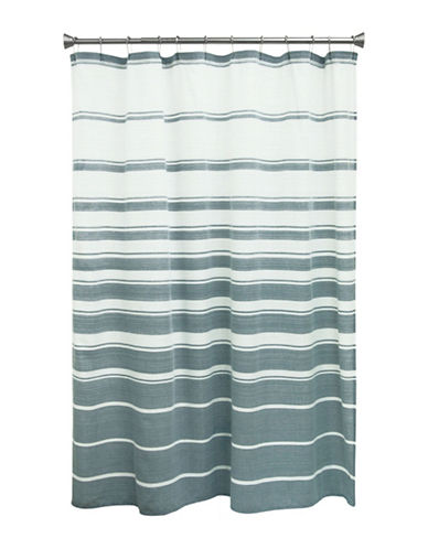Bacova Guild Drake Shower Curtain-NAVY-One Size
