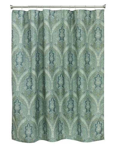 Bacova Guild Landon Medallion Shower Curtain-MULTI-COLOURED-One Size