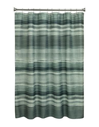 Bacova Guild Sheridan Stripe Shower Curtain-GREY-One Size