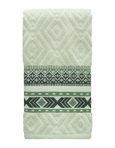 Bacova Guild Cedar Creek Cotton Hand Towel-GREEN-Hand Towel