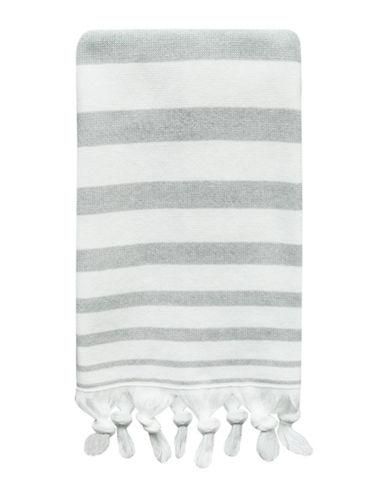 Bacova Guild Drake Cotton Hand Towel-GREY-Hand Towel