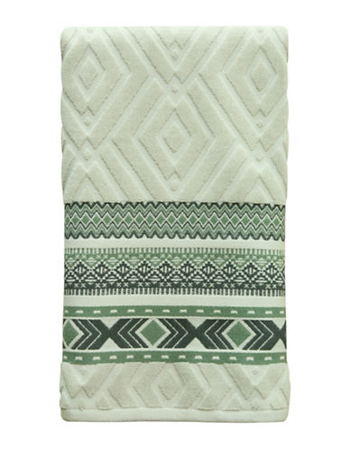 Bacova Guild Cedar Creek Cotton Bath Towel-GREEN-Bath Towel