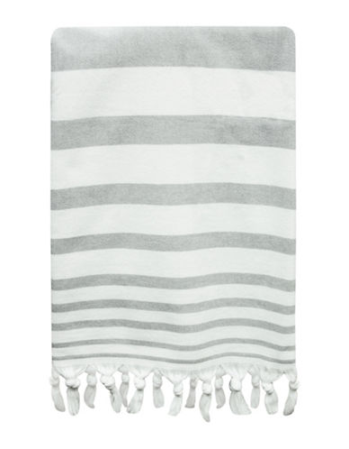 Bacova Guild Drake Cotton Bath Towel-GREY-Bath Towel