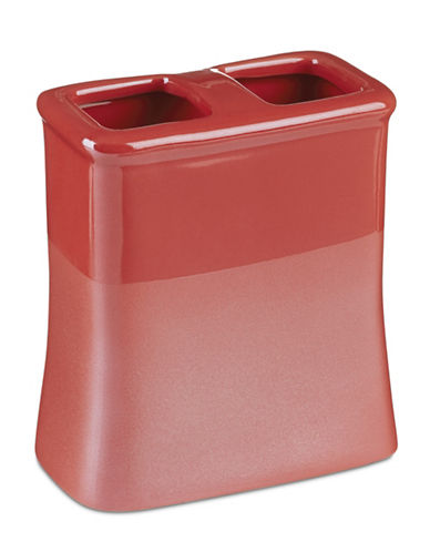 Jessica Simpson Kensley Coral Toothbrush Holder-CORAL-One Size