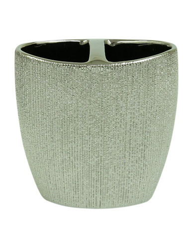 Bacova Guild Drake Toothbrush Holder-GREY-One Size
