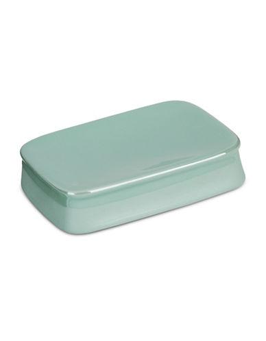 Jessica Simpson Kensley Spice Coral Soap Dish-AQUA-One Size