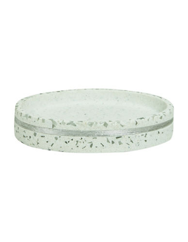 Bacova Guild Bacall Soap Dish-OFF WHITE-One Size