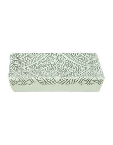 Bacova Guild Cedar Creek Porcelain Soap Dish-OFF WHITE-One Size