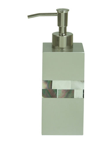Bacova Guild Modreperla Lotion Dispenser-GREY-One Size