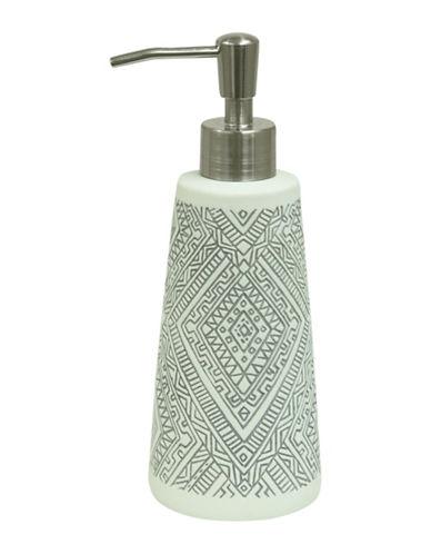 Bacova Guild Cedar Creek Porcelain Lotion Dispenser-OFF WHITE-One Size