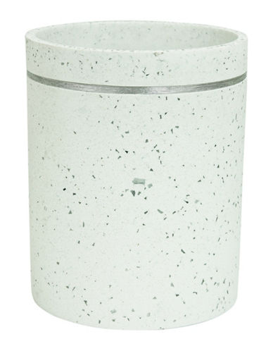 Bacova Guild Bacall Wastebasket-OFF WHITE-One Size