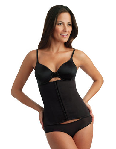 Miraclesuit Inches  Off Extra Firm Control Waist Cincher-BLACK-Large