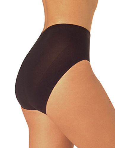 Naomi And Nicole Luxurious Shaping Firm Control Brief-BLACK-Medium