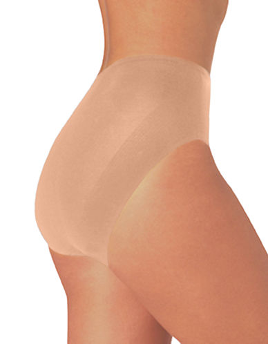 Naomi And Nicole Luxurious Shaping Firm Control Brief-BEIGE-Medium