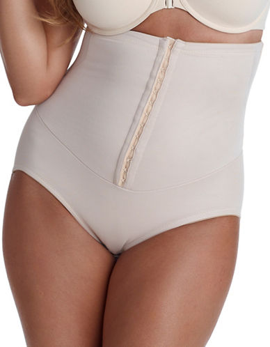 Miraclesuit Inches Off Waist Brief-NUDE-Medium