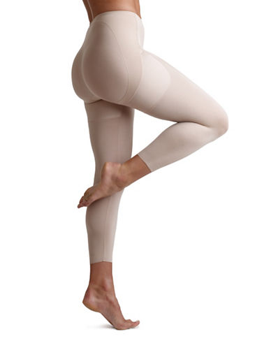 Miraclesuit Rear Lift Capris-BEIGE-Small
