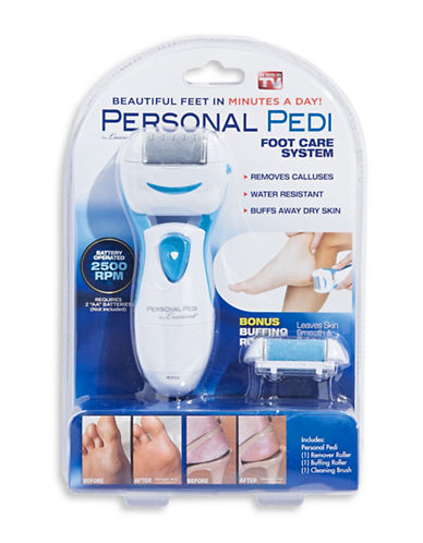 As Seen On Tv Personal Pedi Foot Care System-NO COLOUR-One Size