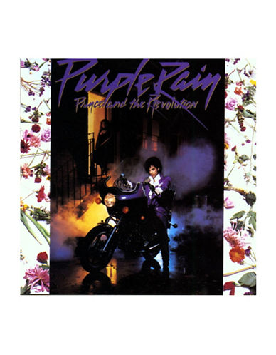 Vinyl Prince - Purple Rain Vinyl-BLACK-One Size