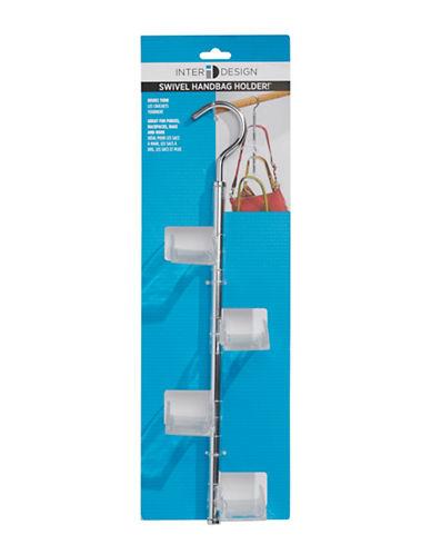 Interdesign Inc Swivel Handbag Holder-CLEAR-One Size