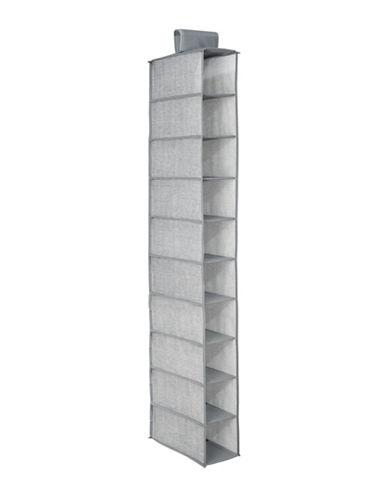 Interdesign Inc Aldo Hanging Organizer Closet-GREY-One Size