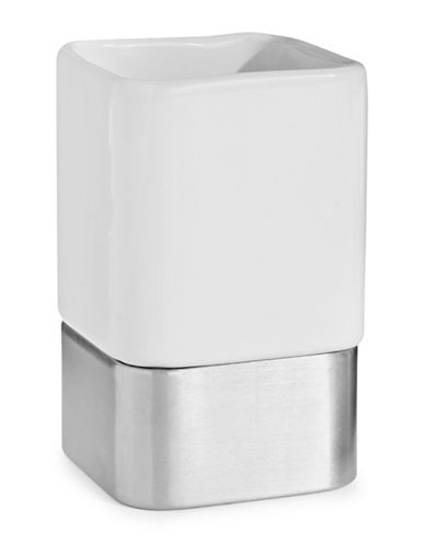 Interdesign Inc Gia Tumbler-WHITE-One Size