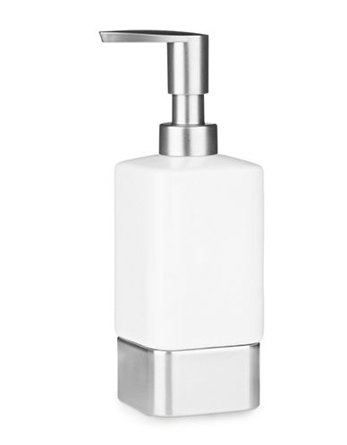 Interdesign Inc Gia Lotion Pump-WHITE-One Size