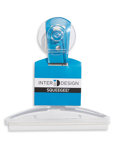 Interdesign Inc Suction Squeegee-CLEAR-One Size 1428127_CLEAR_One Size