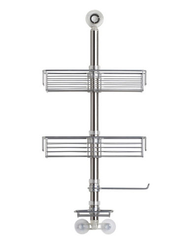 Interdesign Inc Forma Stationed Caddy-BRUSHED STAINLESS STEEL-One Size