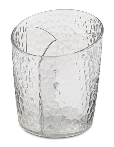 Interdesign Inc Clear Rain Cosmetic Cup-CLEAR-One Size