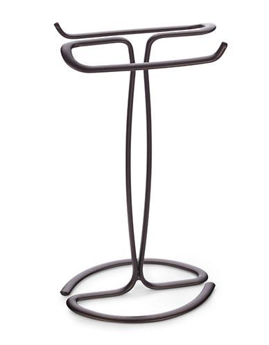 Interdesign Inc Bronzed Finger Tip Towel Holder-BRONZE-One Size