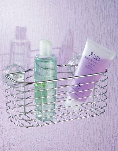 Interdesign Inc Power Lock Suction Shower Basket 63414759